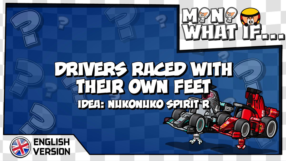 Mini What if... - 027 - Drivers raced by their own feet losminidrivers.com/2020/05/24/min…