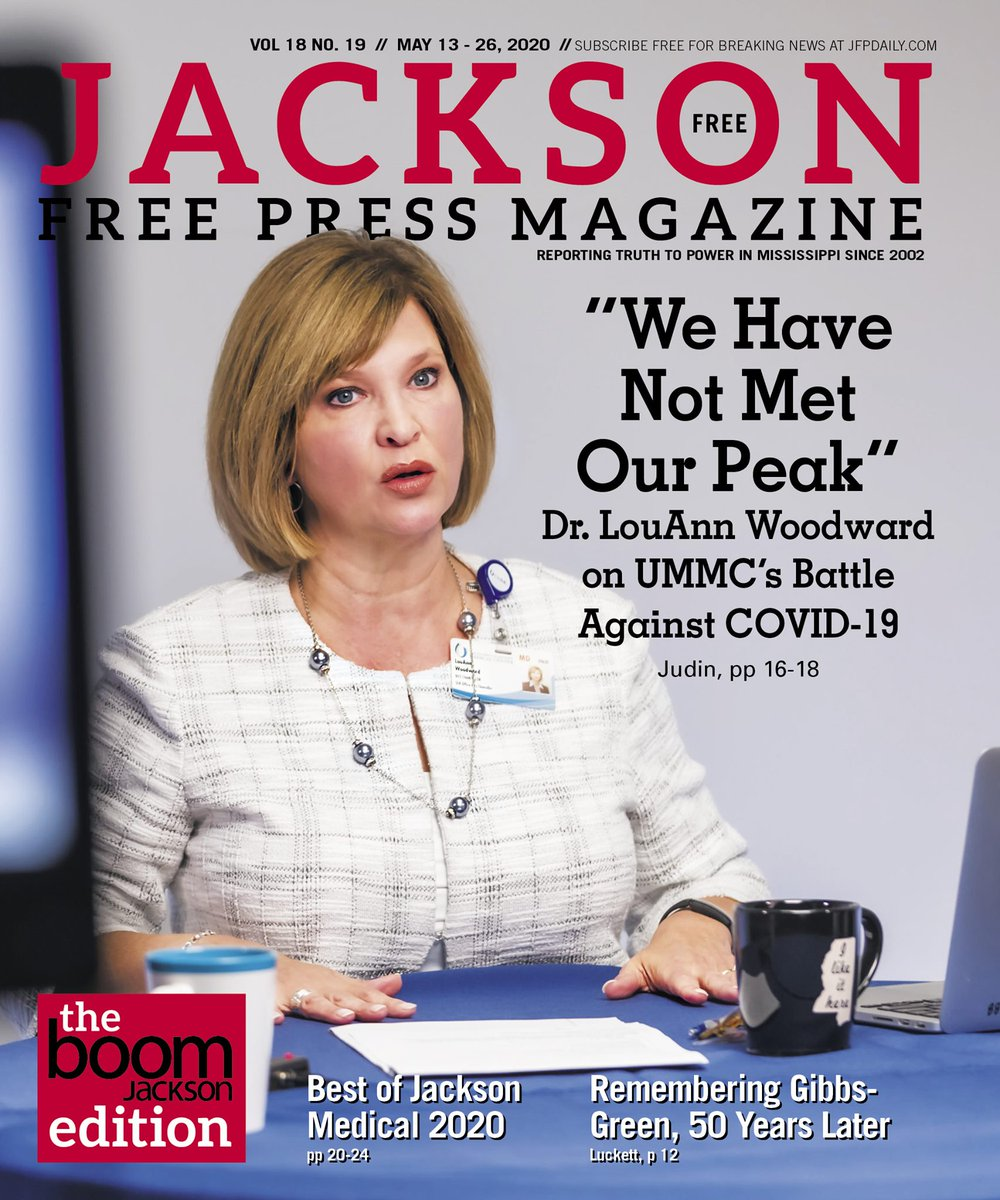 Enjoy great news coverage with this beautiful digital edition of the JFP! Flip through the latest issue by visiting  https:// issuu.com/jacksonfreepre ss/docs/v18n19?mode=embed  …   #COVID19 <br>http://pic.twitter.com/hfxj62xu7z