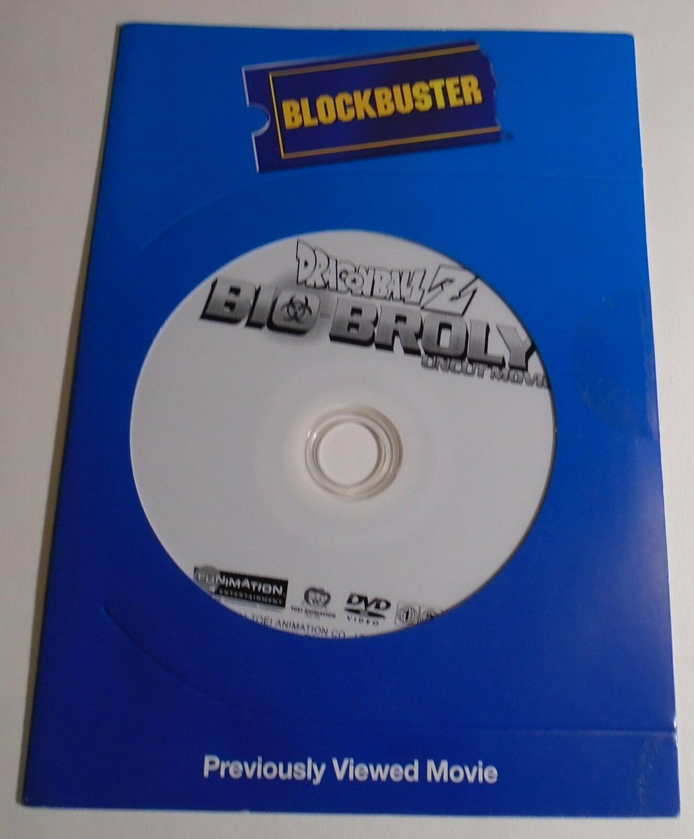 imagine owning a blockbuster copy of bio broly  hhhh <br>http://pic.twitter.com/rPUeV5J3T8