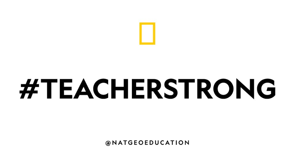 What questions are on your mind as you wrap up this #distancelearning school year? #TeacherStrong