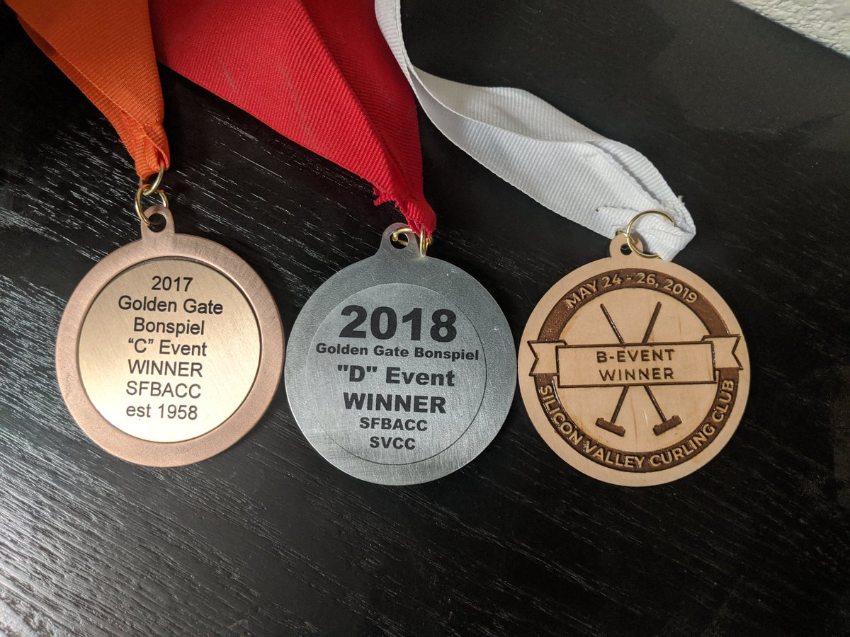 It took a pandemic to stop my streak of Memorial Day Weekend bonspiel event wins. Let's just say that next year still counts, okay @SVCurling?<br>http://pic.twitter.com/aS34RVEcKp