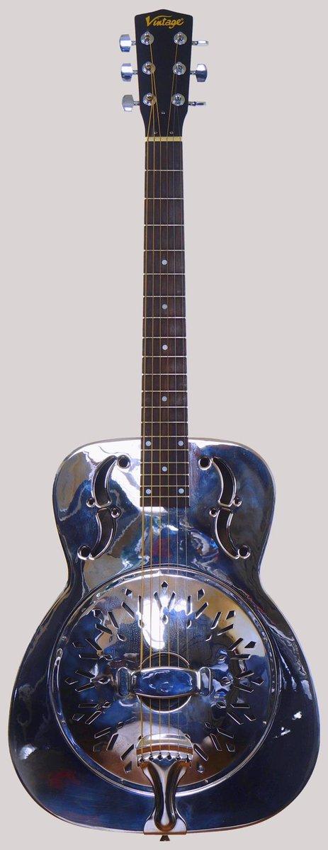 JHS Vintage AMG1 single cone Resonator Guitar at Ukulele corner
