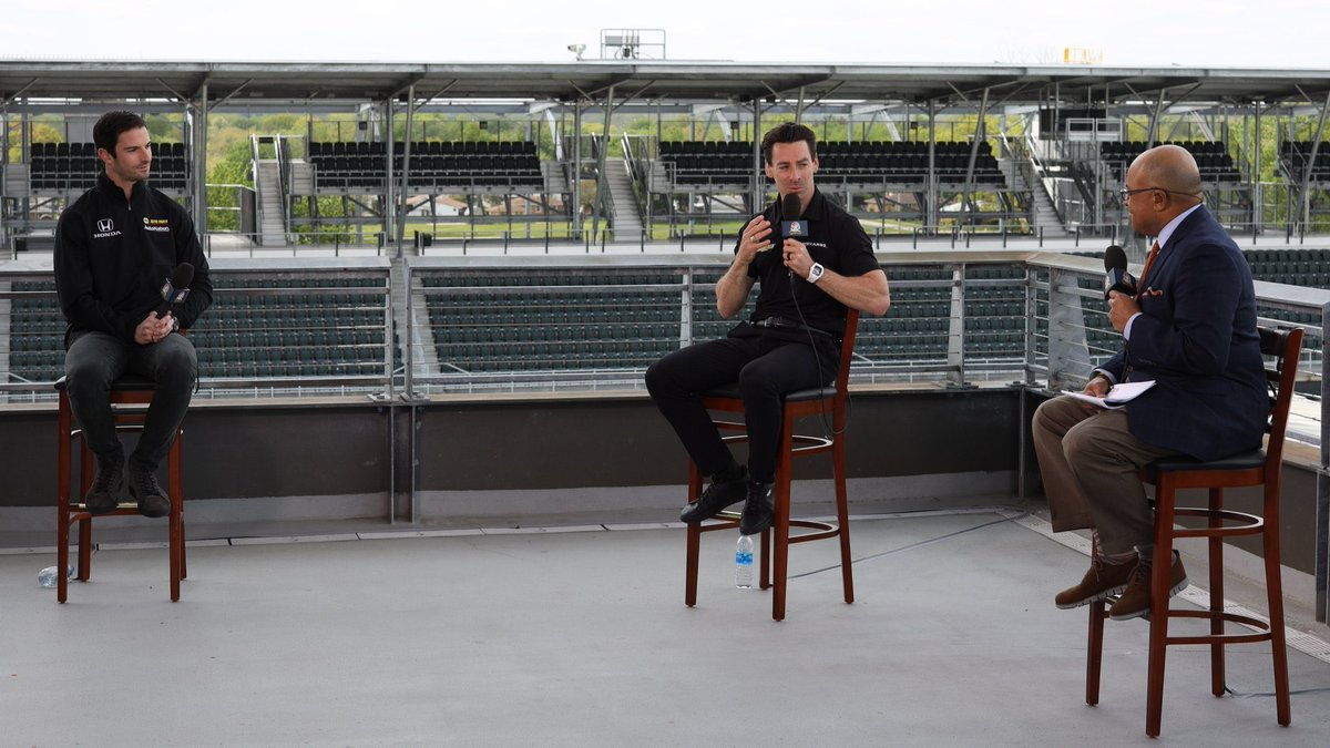 Huge thanks @simonpagenaud @AlexanderRossi @IMS @IndyCar for a memorable look back at 2019. Thanks to the all who enjoyed watching. Can't wait to see you in August!! @IndyCaronNBC
