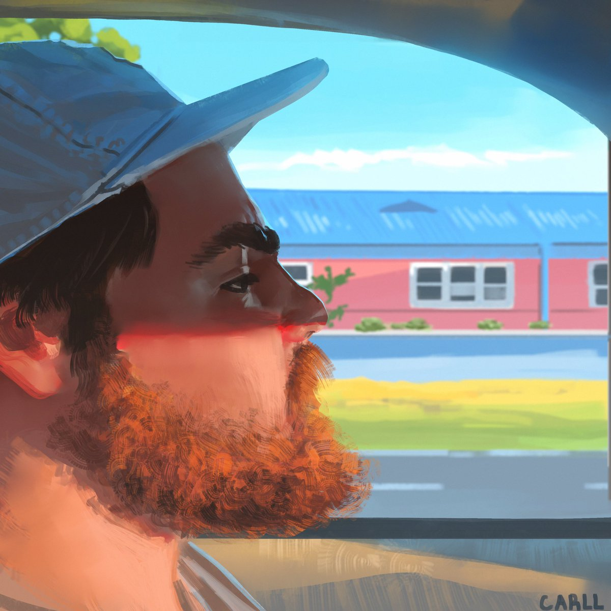 Photo study! Trying to focus on color and light. #artistsontwitter #digitalart #painting pic.twitter.com/HZusiovsWX
