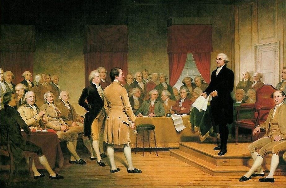 The Constitutional Convention convened #OTD in 1787 and George Washington was unanimously elected as its president. https://t.co/LVorFEKpEw https://t.co/yyN4kqlSMe
