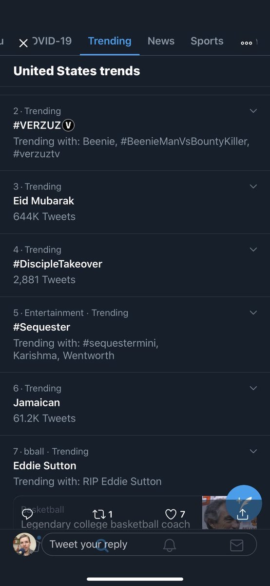 This is seriously insane 🤯! Congrats to @AMikeBloomType and @RedmondSurvivor, the moderators,  Survivor alumni, and passionate audience members that made this show a TREND IN AMERICA! We seriously DID THAT 🔥🔥 #Sequester