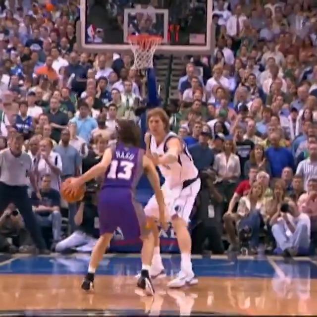 Nash vs. Dirk! #NBATogetherLive   @SteveNash x @Swish41 https://t.co/p8ODWtQPUs