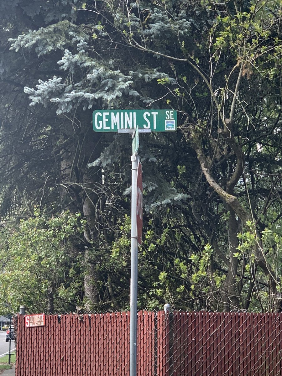 Should I be scared? Maybe I'll walk the other way  #Gemini #street pic.twitter.com/zgYH71RKv7