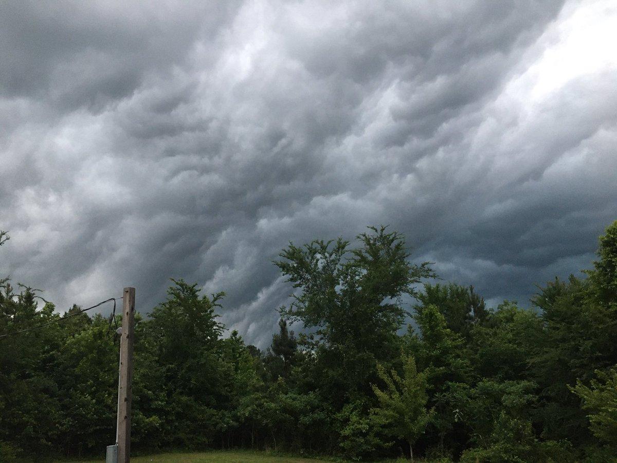 dark clouds over point cedar arkansas @KATVToddYak @KATVNews