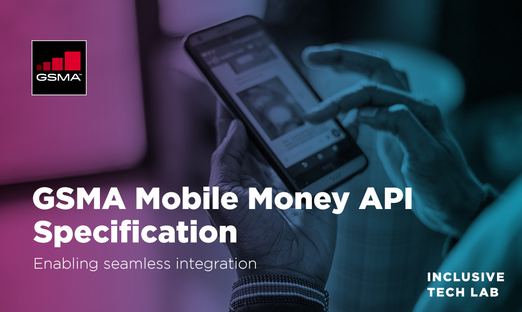 Check our the updated GSMA Mobile Money API Specification 1.1. Developed in collaboration with the industry, the improvements will help to simplify and accelerate integration with #MobileMoney platforms. https://bit.ly/3axVceq   #MobileMoneyAPIpic.twitter.com/x7GkL7BhtC
