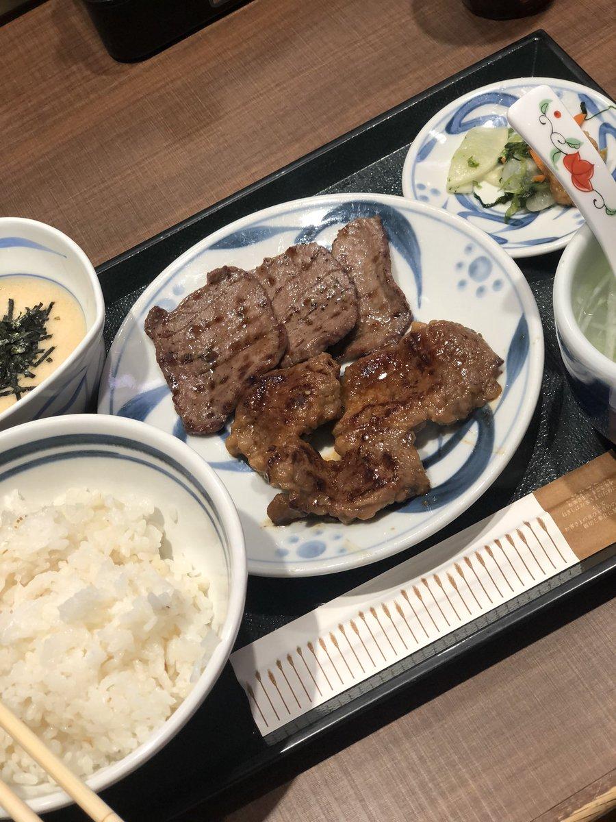 久々の『ねぎし』 美味しかった #ねぎし #ブラッキー #肉 #ランチ #眠くなるpic.twitter.com/QqDevddmnZ