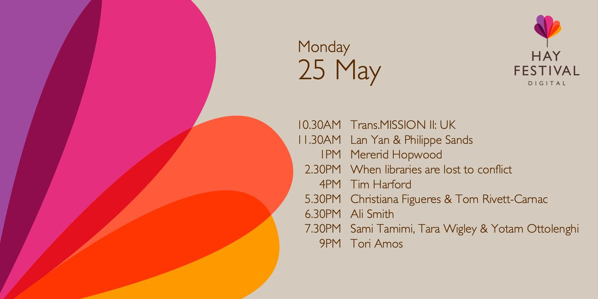 Today at hayfestival.org/digital 📖 #ImagineTheWorld