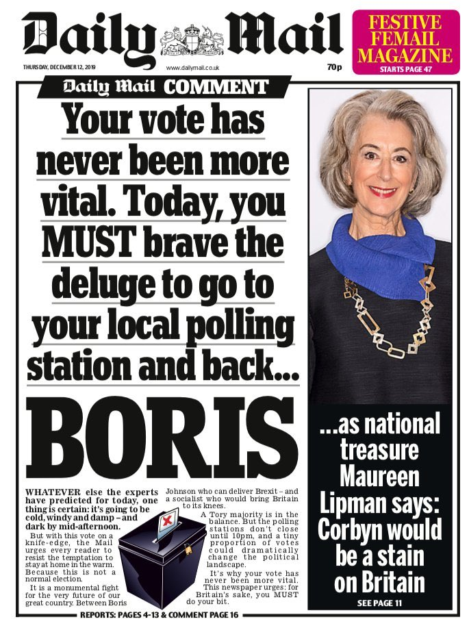 Courtesy of the Daily Mail My plans 2020