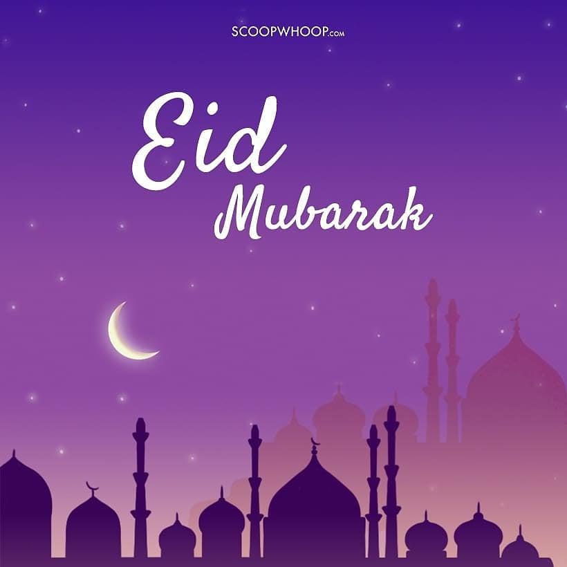 #EidMubarak sabhi ko