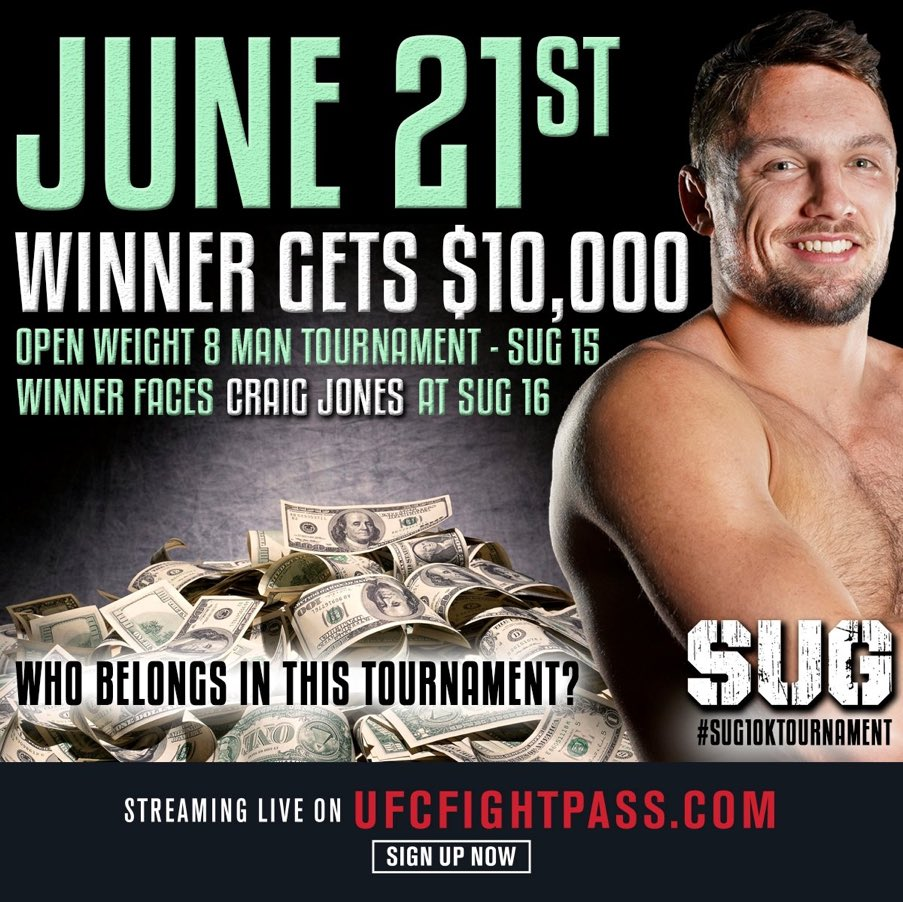 Winner gets 10 grand or as Jon Jones calls it...Bail Money https://t.co/hRZLoR7sAS