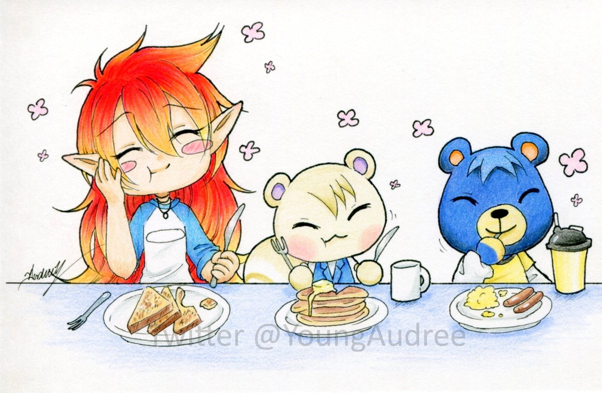Colored version!    #animalcrossing #traditionalart #coloredpencil #fanart #ACNH #chibipic.twitter.com/Jqe2Zh4HQ4