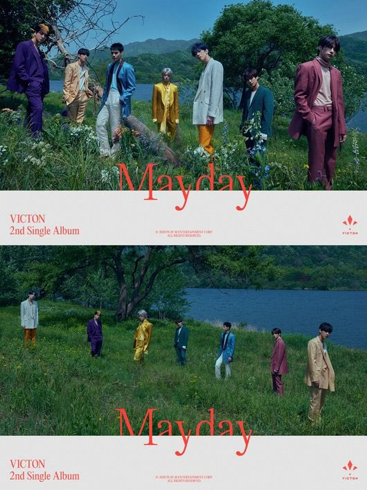 """We're ready!  VICTON's &lt;Mayday> signals the continuation of the group's """"emotional performance"""", similar to their first single """"Time of Sorrow""""  Source:  https:// n.news.naver.com/entertain/arti cle/109/0004212364  … <br>http://pic.twitter.com/CU7Z2vM4NZ"""