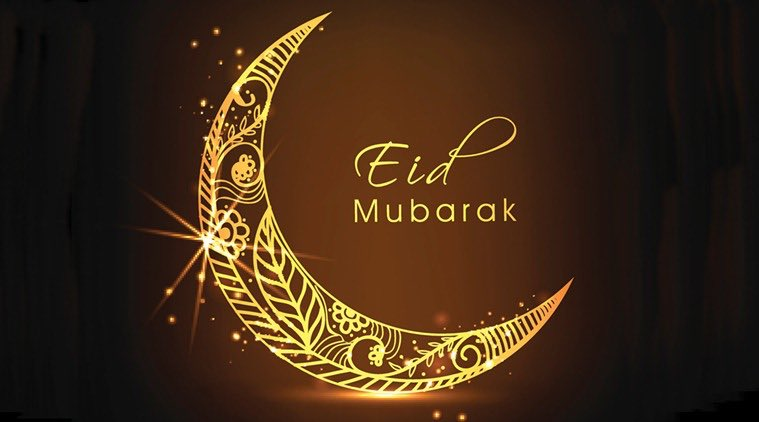 May this Eid, bless you with peace and bring joy and love to your heart and homes. #EidMubaarak https://t.co/5cl4Jr2m64