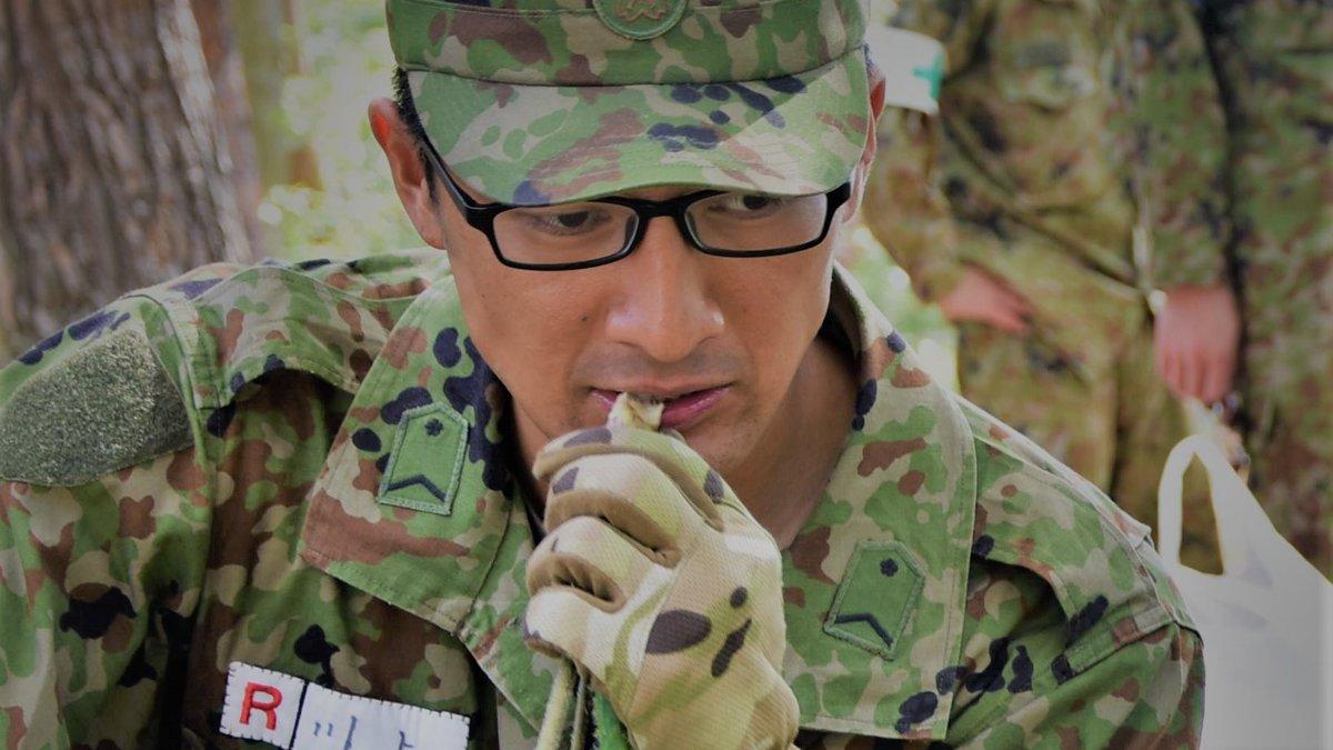 第6師団レンジャー訓練隊は、生存自活訓練を行いました。改めて「#命をいただく」ことのありがたさを感じました…🙏(画像はウド、シマヘビ、カエルですが、そのほか鶏、ブラックバスも隊員が美味しくいただきました)#第6師団 #レンジャー #多賀城駐屯地