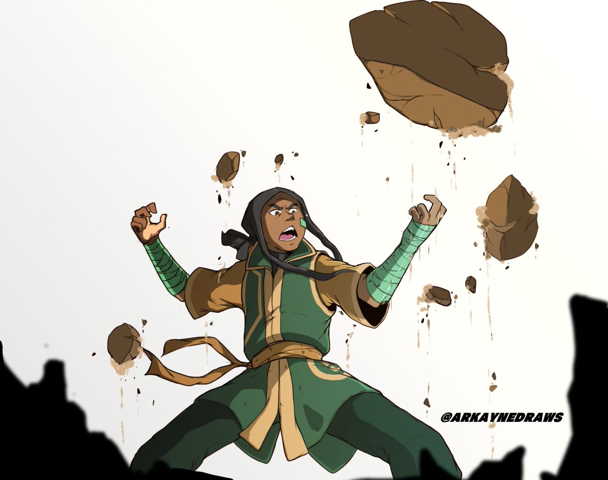 This is Myself as an Earthbender in the Avatar universe. #ATLA #AvatarTheLastAirbender #Avatarsona