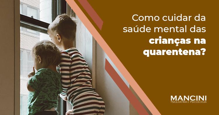 COMO CUIDAR DA SAÚDE MENTAL DAS CRIANÇAS NA QUARENTENA?  Dicas da Dra. Stephanie Levy, psiquiatra e psicoterapeuta da Equipe Mancini.   https://mancinipsiquiatria.com.br/como-cuidar-da-saude-mental-das-criancas-na-quarentena…  #quarentena #pandemia #SaúdeMental #BemEstar #VidaSaudável #Comportamento #Psicologia #Psicoterapia #Psiquiatriapic.twitter.com/BMcR0xZd8T