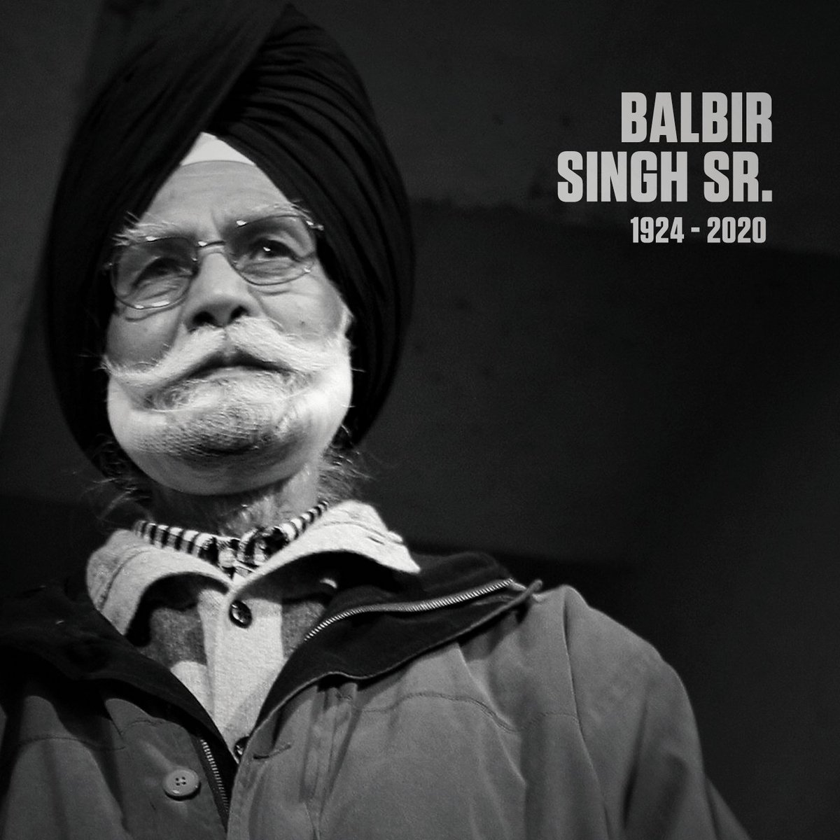 Balbir Singh Sr., a three-time Olympic gold medallist, one of Indian hockeys greatest players, has died of multiple health issues. He was 95. es.pn/3d1eudk