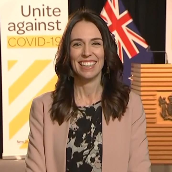 Watch: New Zealand Prime Minister Jacinda Ardern barely skipped a beat when an earthquake struck during a live television interview Monday morning https://t.co/y6mi4M5mxb https://t.co/L8uhle1rNT