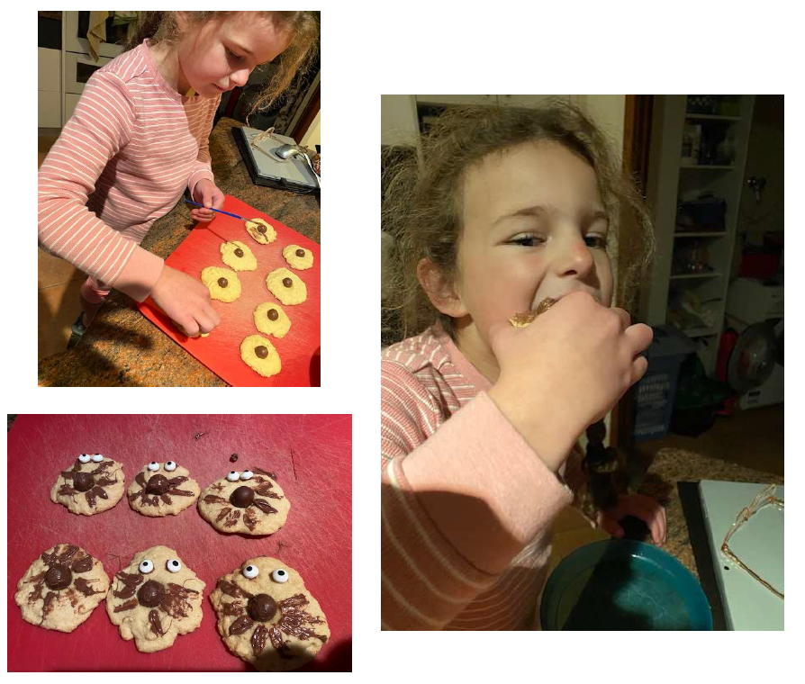 Freya (Yr1) used the story of 'Sidney Spider - A Tale of Friendship' to follow a themed recipe to develop her procedural writing skills, as part of a Literacy Enrichment challenge. Great to see our students aspiring to be creative in their learning!