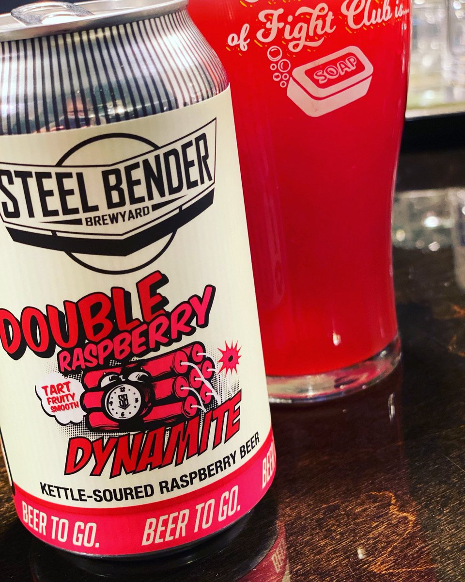 Sometimes, you just need 2X the DYNAMITE. 💥💥 🧨 🧨  ⁠Double the raz puree, double the lactose, and a boosted grain bill for an even bigger POW. #DrinkAtHome #strongerthansteel #builttobrew #supportlocal ⁠⠀ #NMCraftBeer #albuquerque #newmexico #losranchosbrew #NewMexicoBeer https://t.co/ryTRG1vVQT