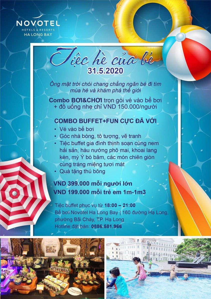 #childrenday #buffet #halongbay #novotelhalongbay #seaview #hotel https://t.co/pe3lJHGiZT