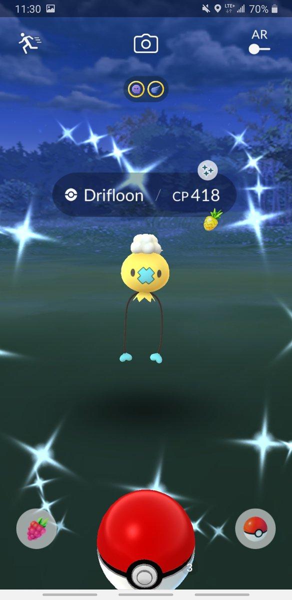 Cute balloon! #PokémonGo #ShinyPokemon pic.twitter.com/lcmcvyezGx