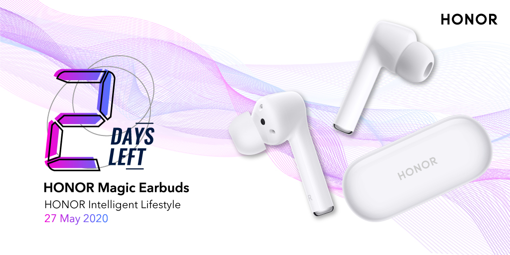 2 days to go for #HONORIntelligentLifestyle 2.0. Get ready to experience our all-new noise cancelling technology.. #HONORMagicEarbuds Link 👉 https://t.co/xc4ZNhLHPZ https://t.co/4EnC901keh
