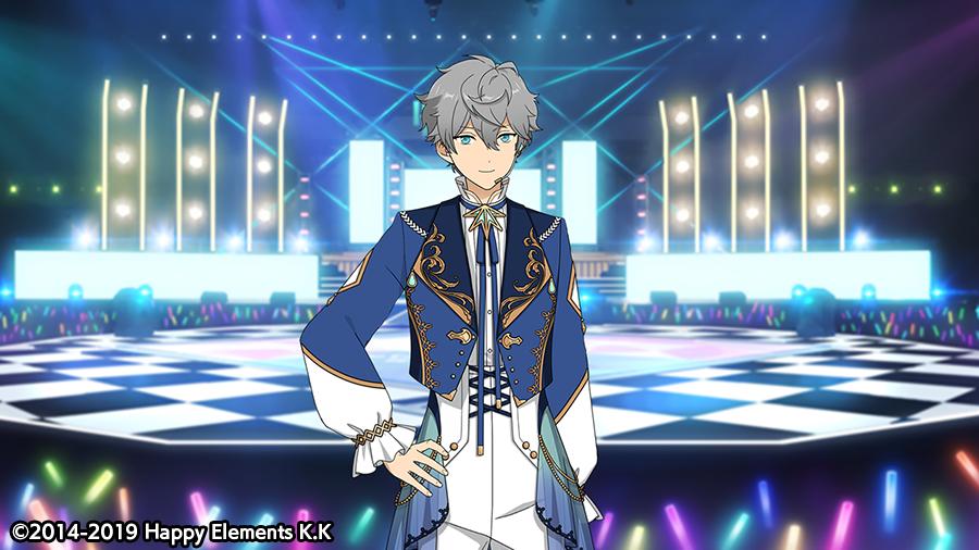 【スカウト情報】泉のカードにはルーム衣装が付いています🎵⭐5 瀬名 泉:【ブルーシルフィード】マイルーム、アイドルルームで着せ替えてみてください👕※衣装はアイドルロードより開放することができます。#あんスタ