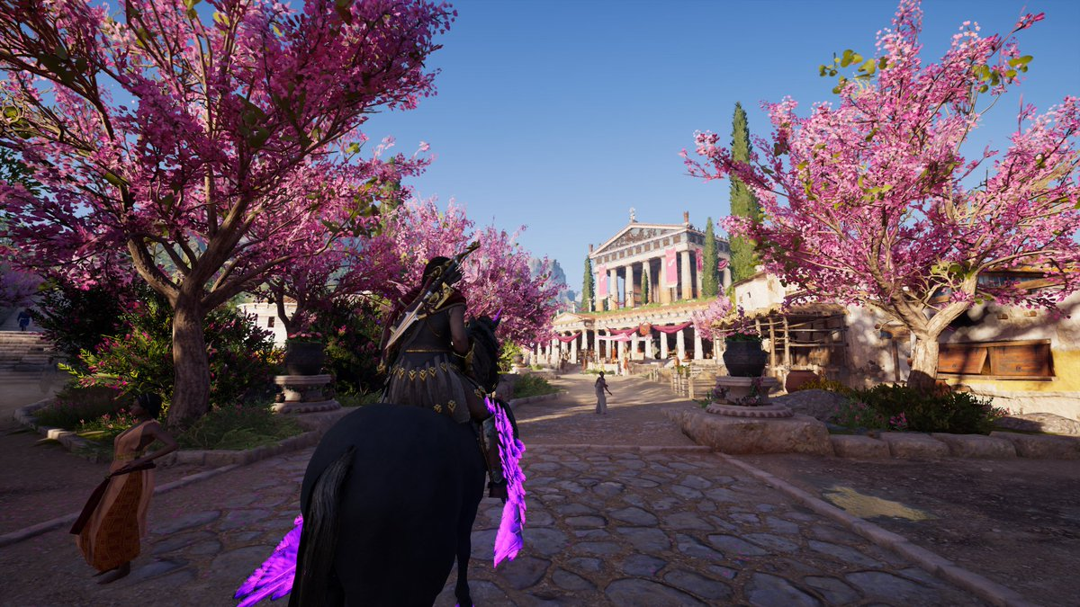 Heading towards the Temple of Apollo  in Korinth #AssassinsCreed #PS4sharepic.twitter.com/ZH09FxYd90