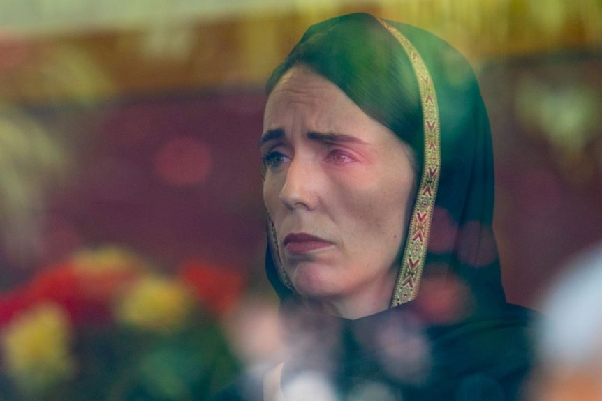 """All I remember is... her """"Guilt Ridden"""" pic after #Christchurch shooting incident.... <br>http://pic.twitter.com/iKiEwRF21W"""