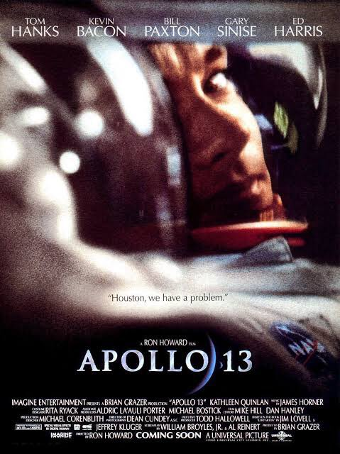 """Apollo 13 (1995)  """"Houston, we have a problem.""""  pic.twitter.com/YSq7nOT9XG"""