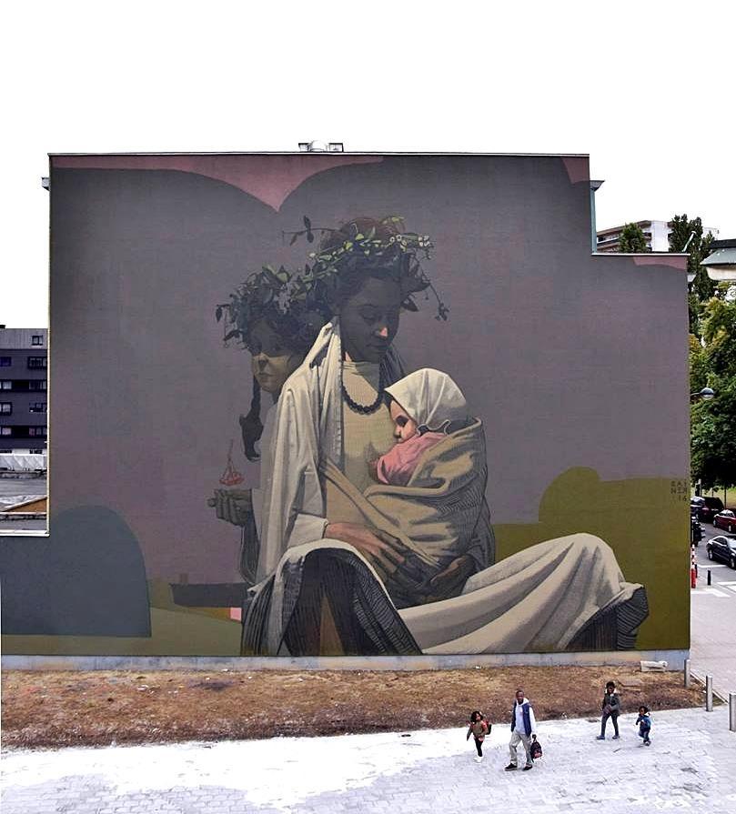 Gran #Mural :) #streetartpic.twitter.com/rveDrRUEuF