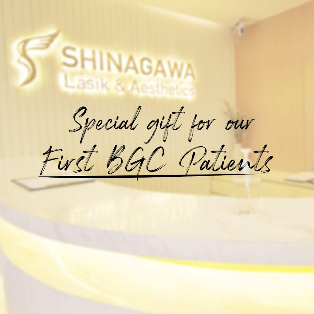 Having a bright eyesight comes with such perks at Shinagawa BGC! 🤩 Book an appointment by sending us a message or call our Patient Care Lines: (+632) 7-368 5238 | (+63) 917 862 7454 | (+63) 921 217 0517. #ShinagawaBGC