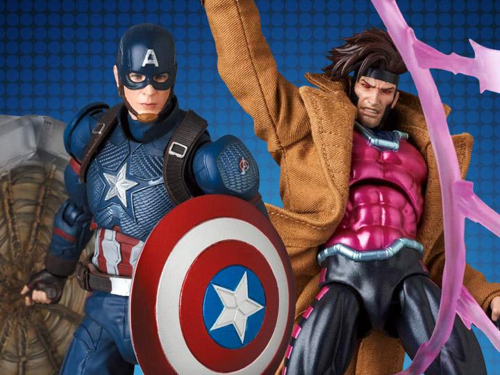 #MAFEX #AvengersEndgame #CaptainAmerica & Comic #Gambit #ActionFigures for Pre-Order Now at https://t.co/yhPhy3iKPT #BBTS #Marvel https://t.co/RICylHIlvD