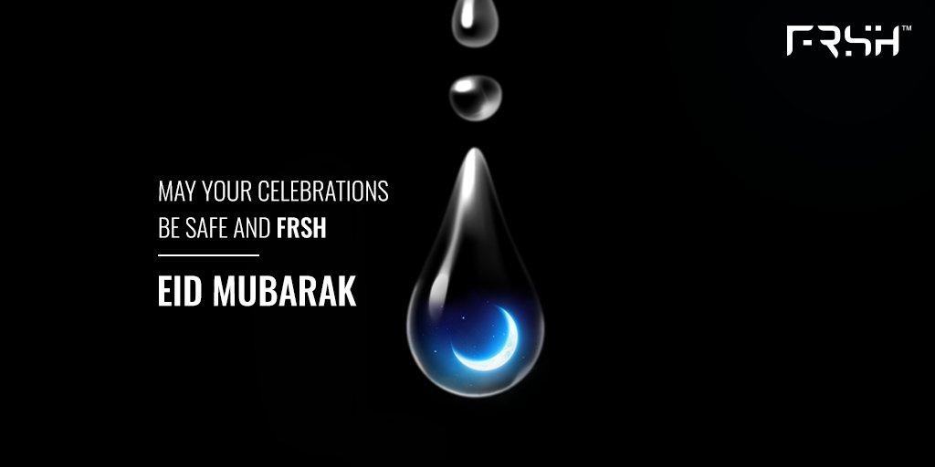 Raho FRSH, Raho Safe this Eid! FRSH ki taraf se aap sabko EID MUBARAK!