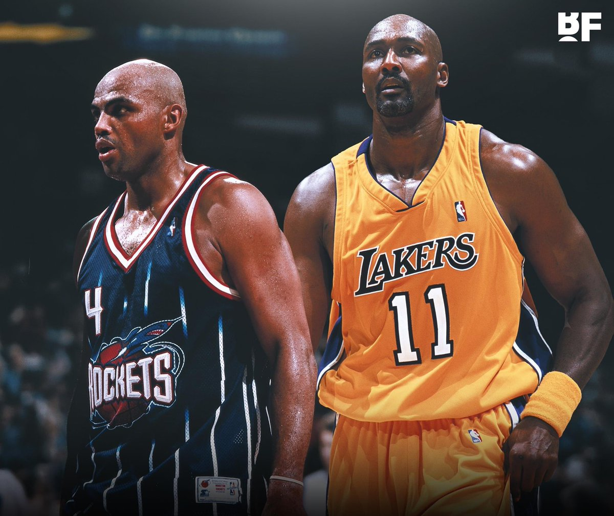 """I wouldn't even have counted (winning a ring with the Rockets) as a championship. I'm not gonna lie. Me and Karl Malone. If he had won a championship with the Lakers, that doesn't count.""  - Charles Barkley https://t.co/mjXYuNcrtG"