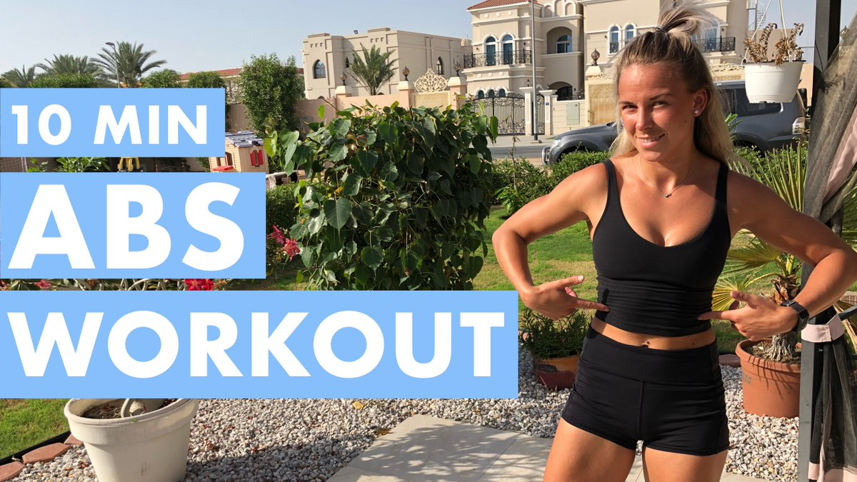 "Check out my ""10 MINS ABS WORKOUT"" on my YouTube channel.  https://youtu.be/ar3QDjRBmmo   #homework #HIIT #abs #core #FitnessMotivation #fitnesspic.twitter.com/oIYWM6PKVo"