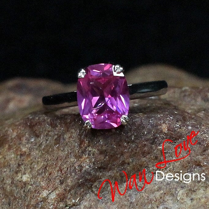 Pink Sapphire Elongated Cushion Solitaire Engagement Ring 4ct 10x8mm 14k 18k White Yellow Rose Gold Platinum Custom Wedding Anniversary http://tuppu.net/f4875c1a  #Customrings #Anniversarygift #Anniversaryring #Etsy #Engagementring #PinkSapphireRingpic.twitter.com/SKipR4qREv