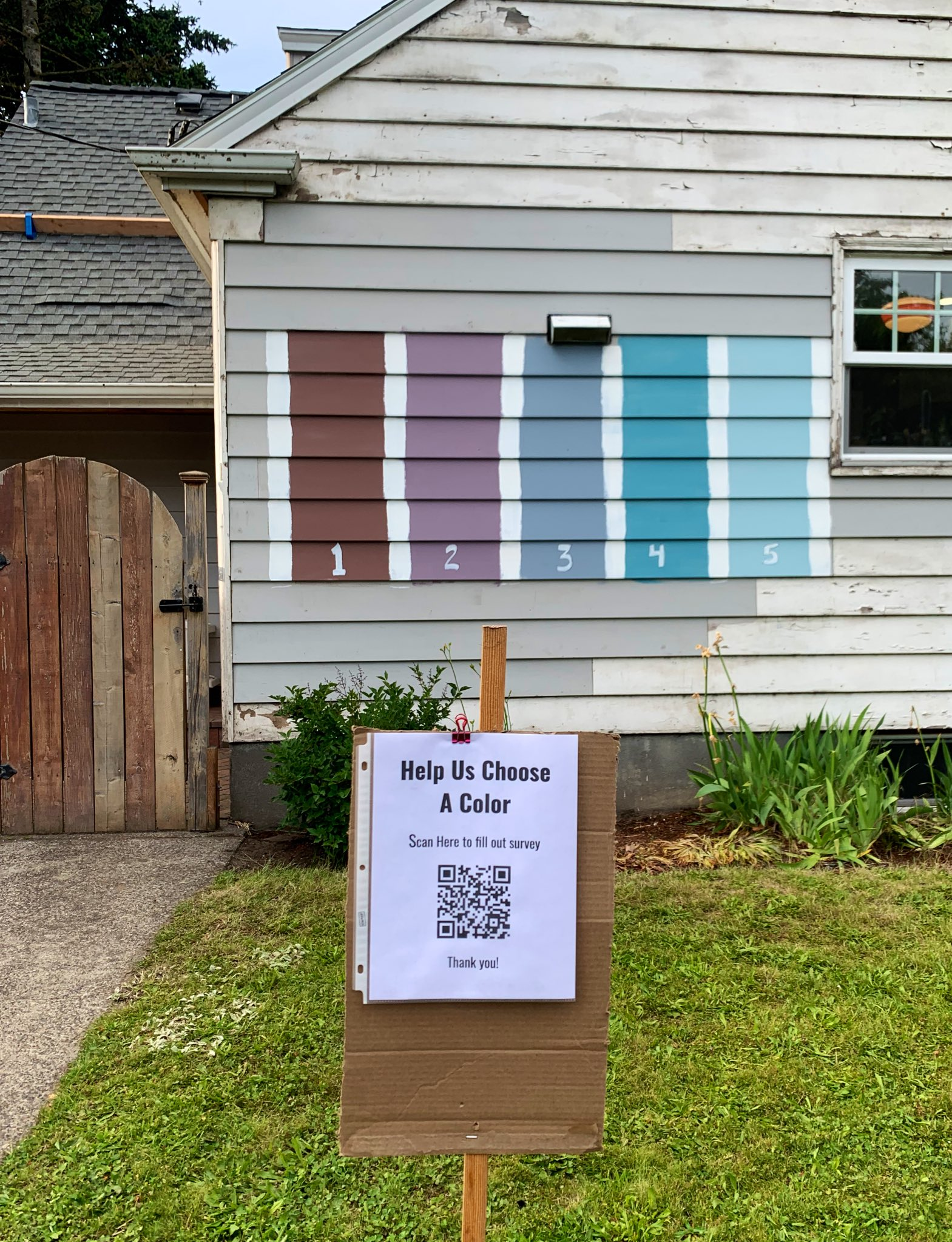 Portland Family S Decision On Their New House Paint Color Acciden