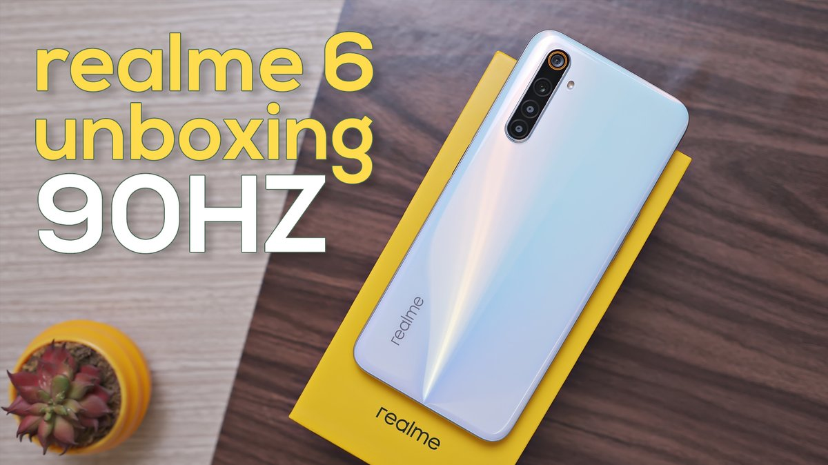 realme 6 Unboxing and First Impressions - 90Hz Display!  Watch it here https://youtu.be/T3THC7_FpEI  @realmemobiles #realme6 #5CamerasProDisplay #Unboxing #FirstImpressionspic.twitter.com/iQsXyPKRH5
