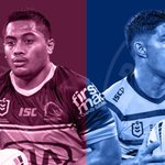 Image for the Tweet beginning: HEAD-TO-HEAD: BRONCOS v EELS |
