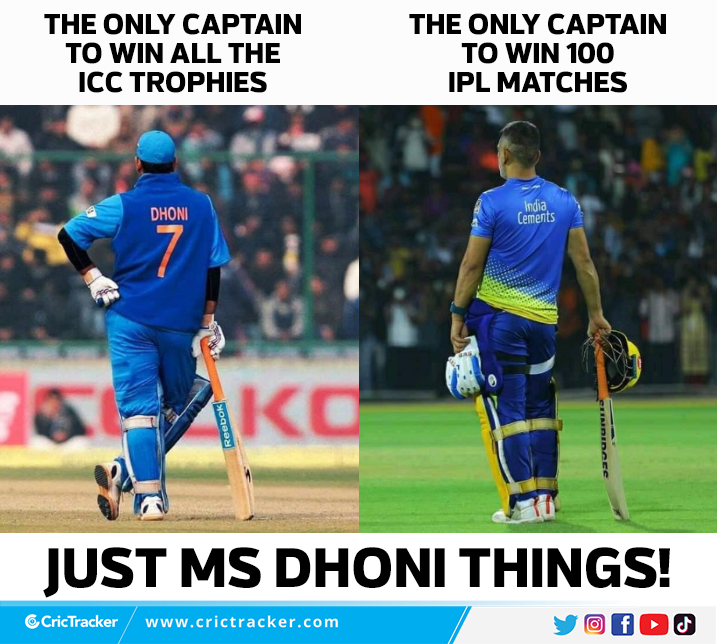 MS Dhoni - The captain fantastic.  #MSDhoni #Cricket #IPL #India #CSK #CricTracker<br>http://pic.twitter.com/D3u5xvAJes