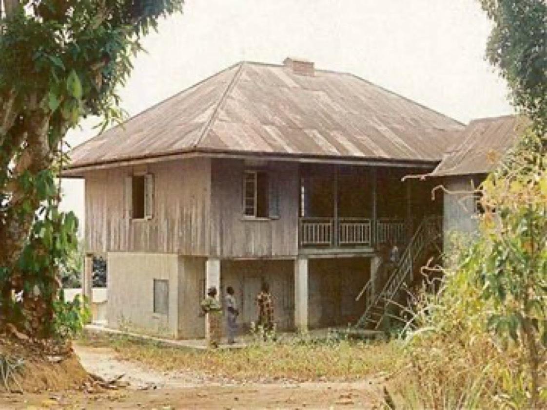 Mary Slessor's House, Cross River State. (1876) <br>http://pic.twitter.com/K15pehOCvB