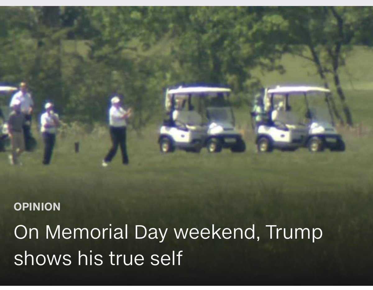 NUMBER AND LEADERSHIP CHECK NEEDED  It was on October 24, 2014 when President Trump tweeted, that it was a shame that President Obama was out golfing when he should have been working to prevent the Ebola virus from spreading. Of course, that wasn't the first time President Trump pic.twitter.com/efpc6zFx4e