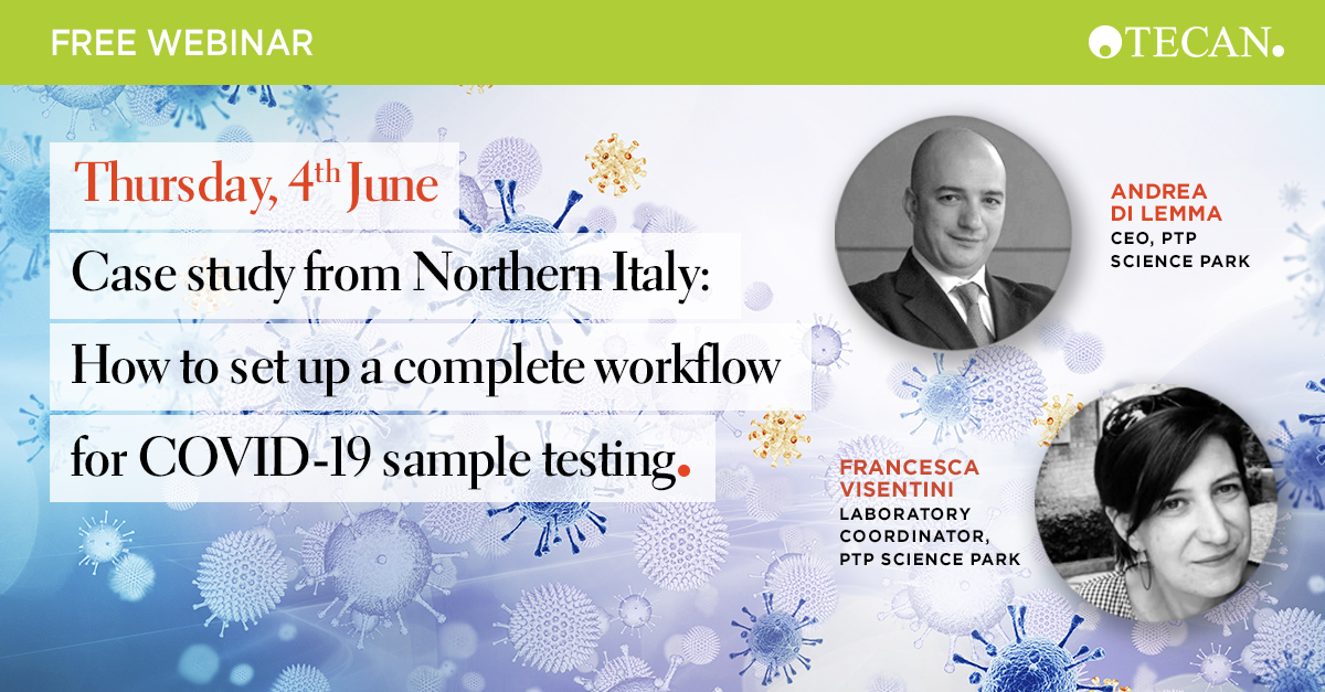 Learn how the PTP Science Park uses the Tecan DreamPrep™ NAP workstation for COVID-19 sample testing. Register for the webinar 👉 https://t.co/sKy0BSGJsj  #COVID19 #CoronaVirusResearch #Labautomation #NAP #Libraryprep #RNA #DNA #StrongerTogether #weRtecan #Tecan https://t.co/vOwu06fXpF